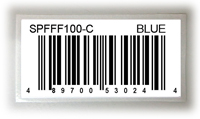 UPC 商品條碼標籤 Label with Simple UPC barcode & product description